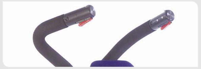 Impugnatura ergonomica con comandi