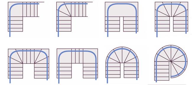 tipologia di scale per montascale
